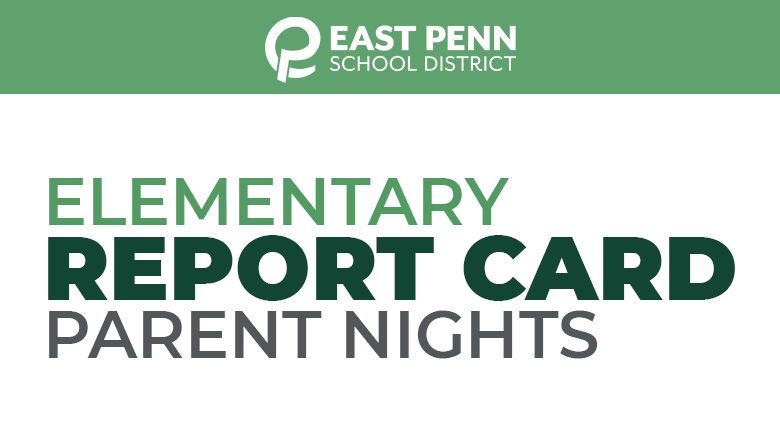 Elementary Report Card Parent Nights Banner