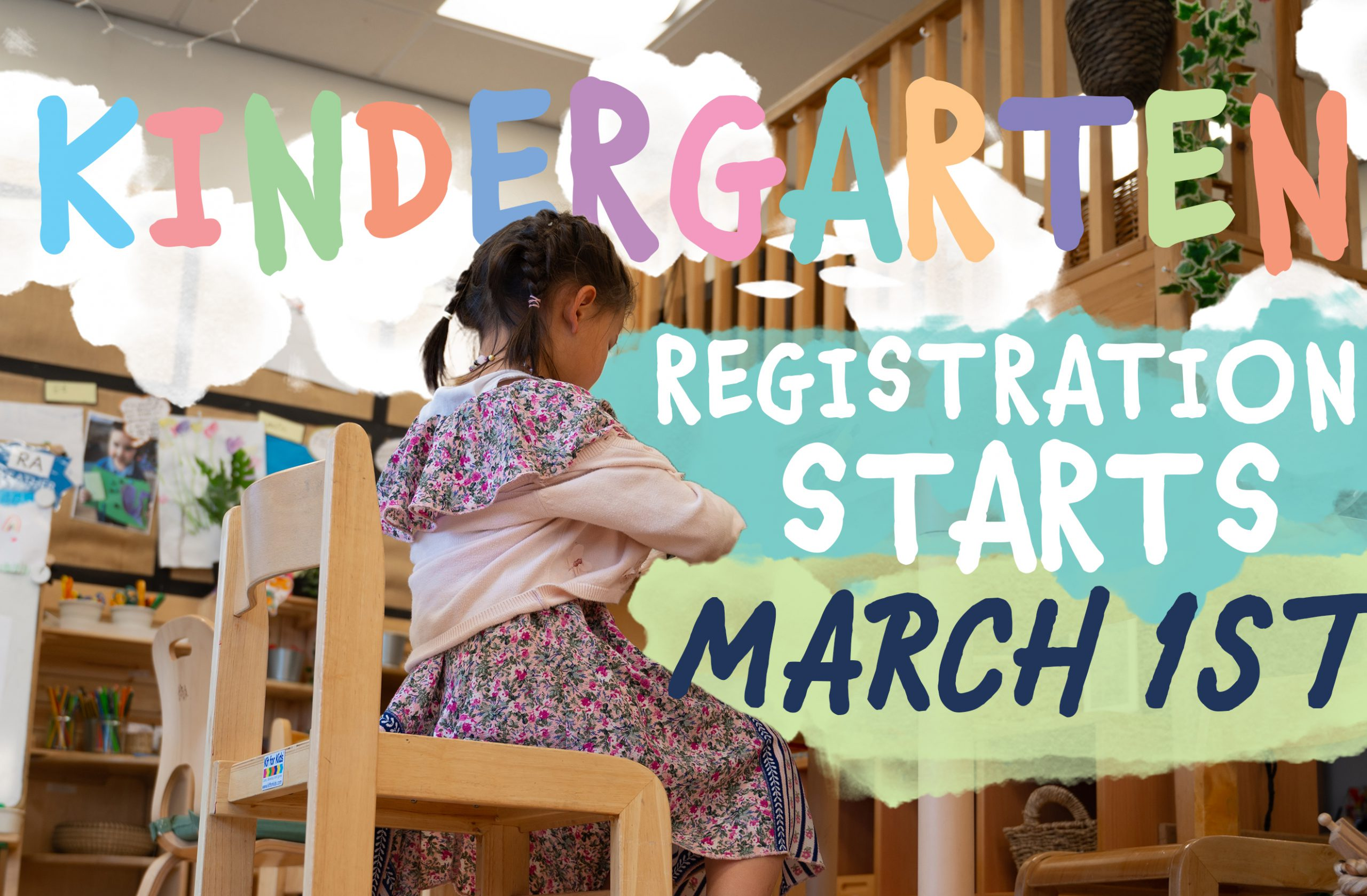 Kindergarten Registration March 1st