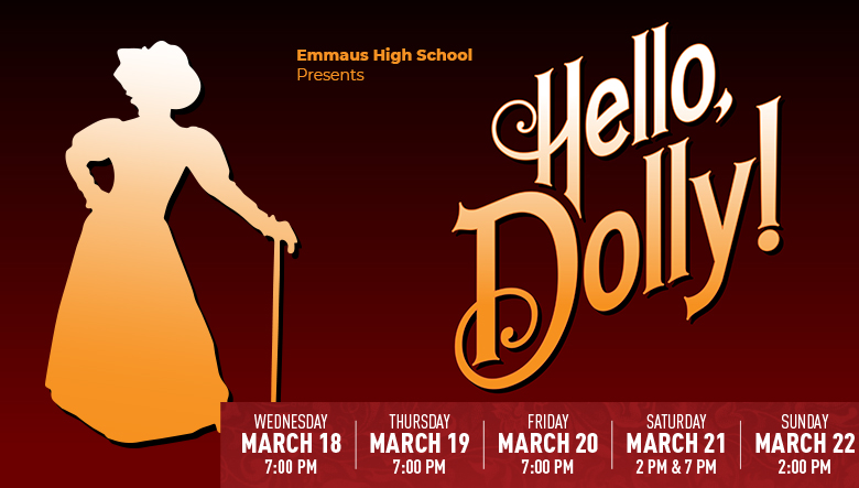 Hello Dolly! Tickets on sale Banner
