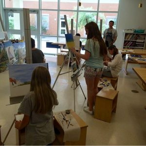 Eyer Students Painting