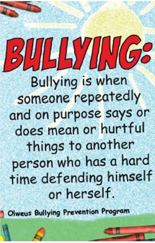 Definition of Bullying Image