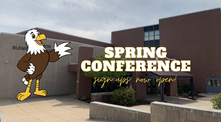 spring conference signups