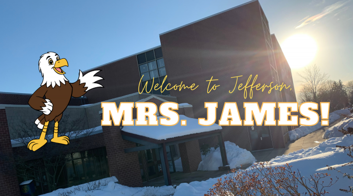 welcome mrs. james
