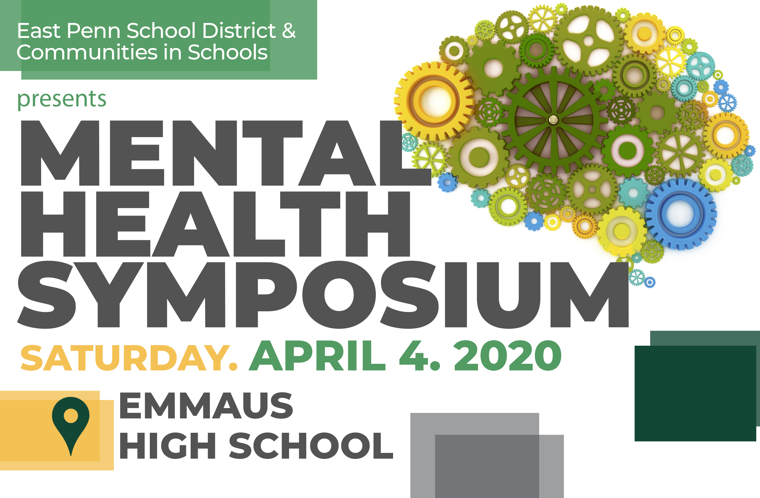EPSD Mental Health Symposium Banner