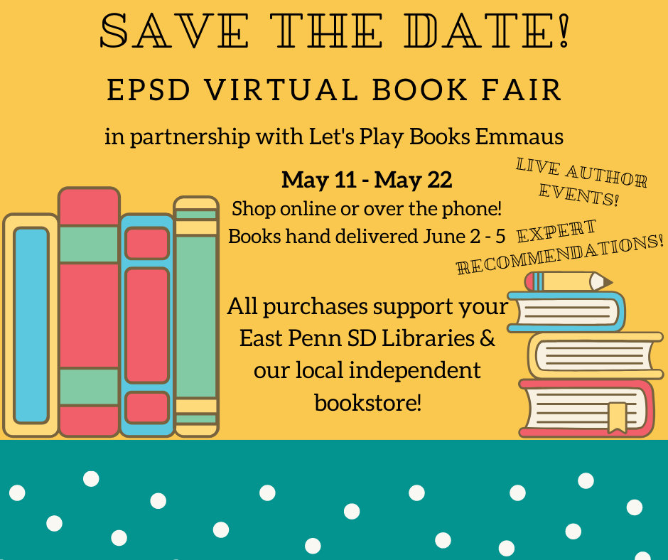 EPSD Virtual Book Fair May 11-May22