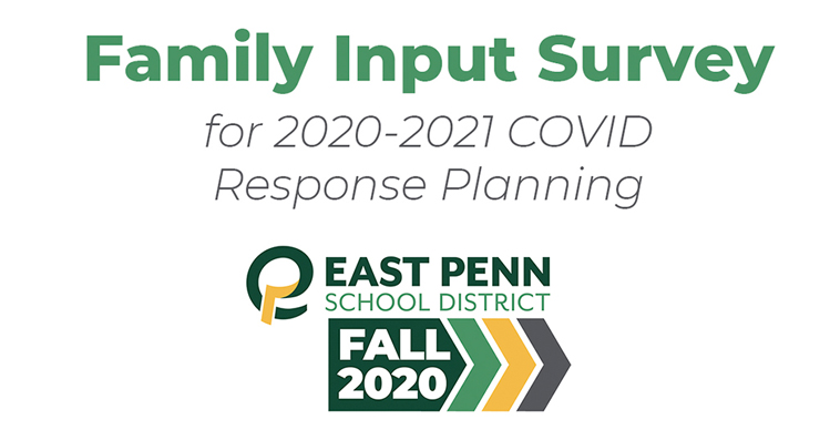 Family Input Survey for CoVID banner