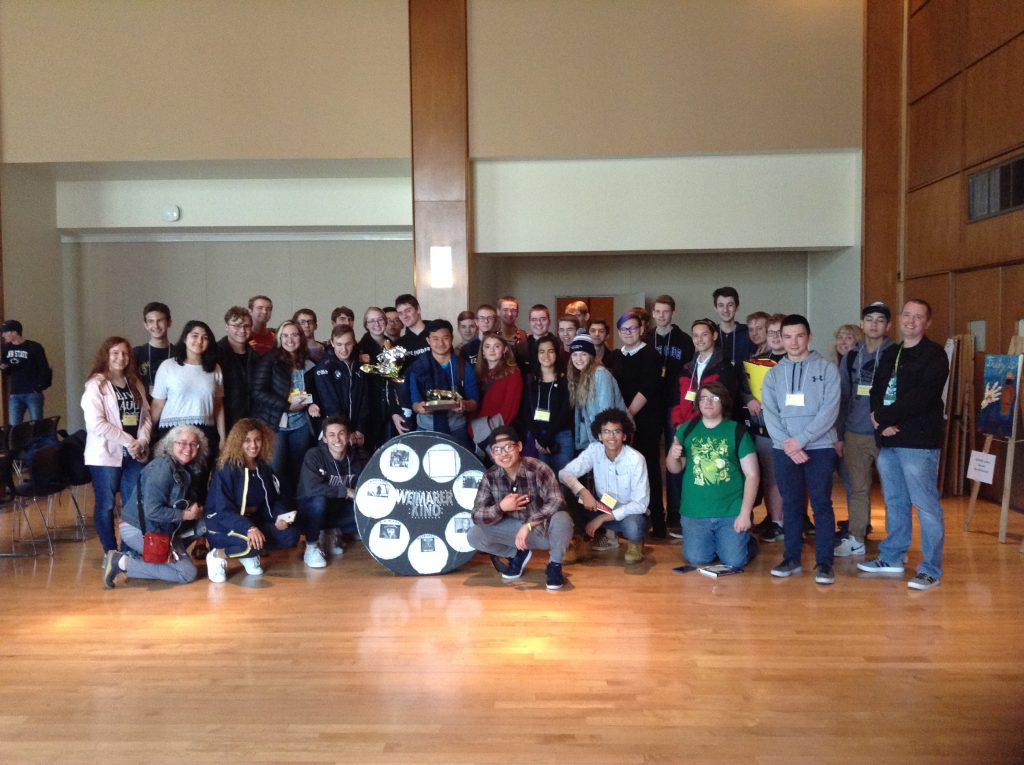 EHS German Students Earn First Place at State German Competition