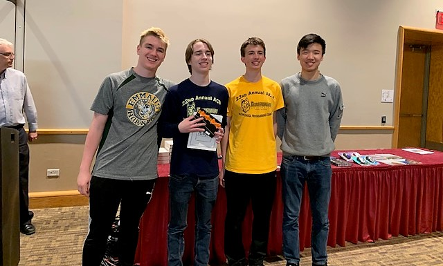 Emmaus High School ACSL Club Places in Programming Competitions