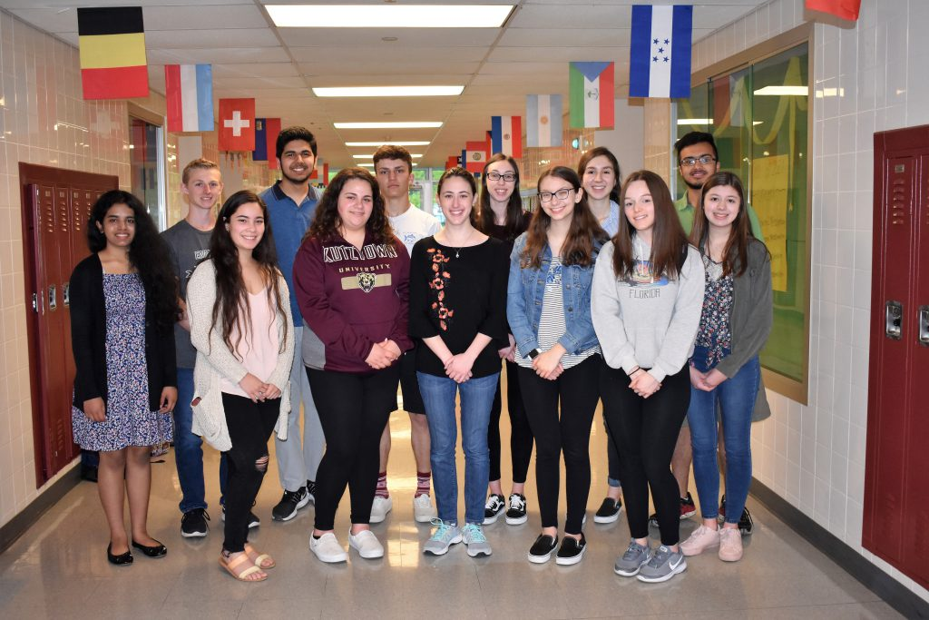 EHS Spanish Students Earn National Recognition on the 2018-19 National Spanish Examinations