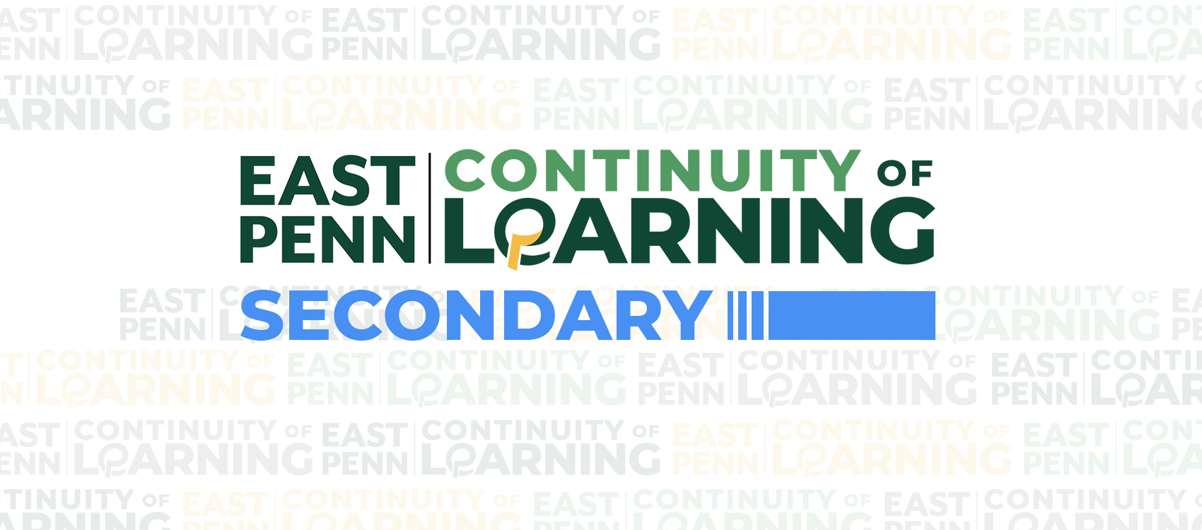 Continuity of Learning - Secondary Banner