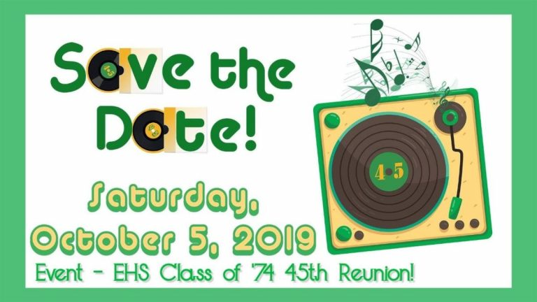 Class of 1974 Save the Date