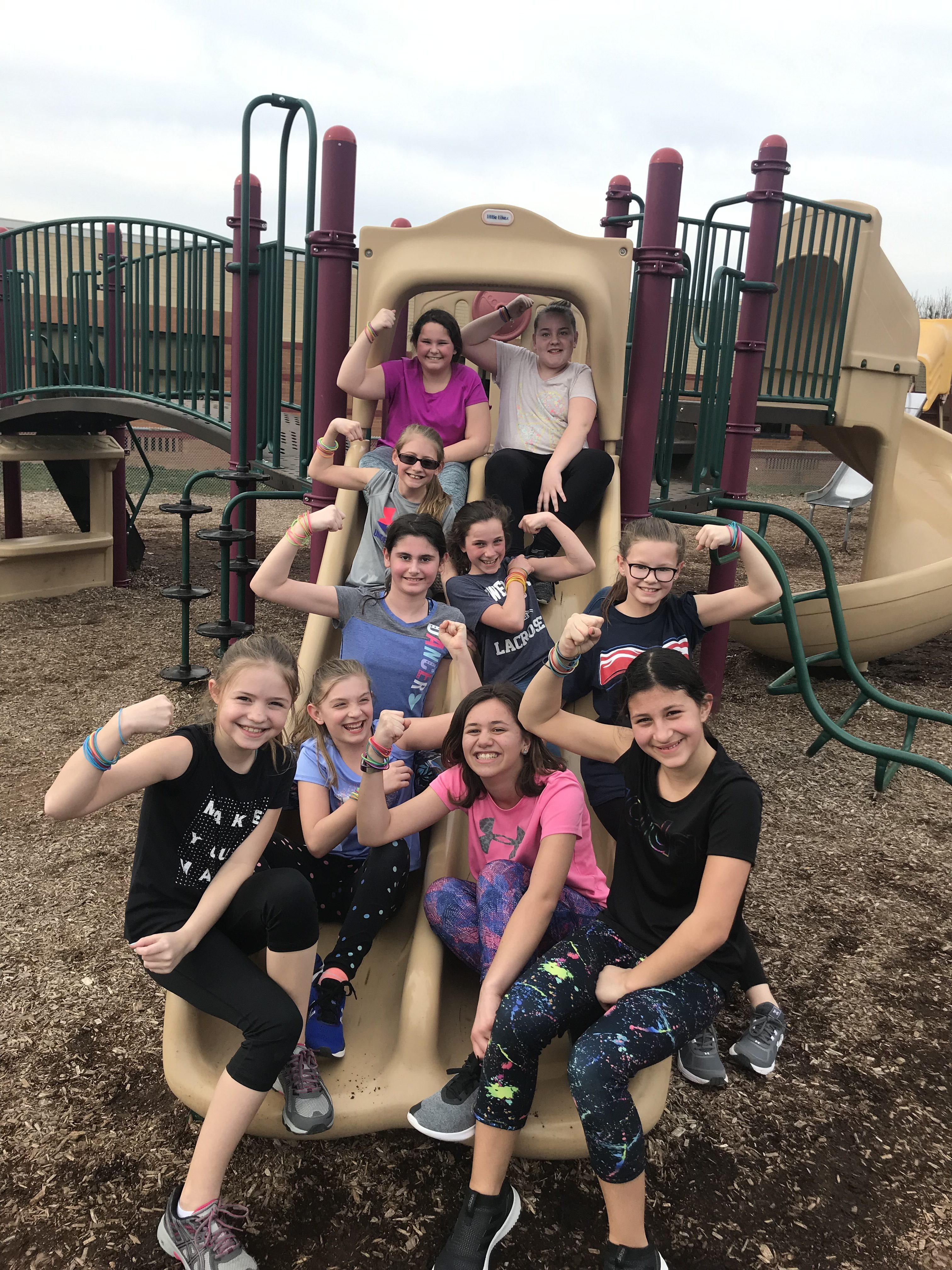 Girls on the Run Encouraging Macungie Elementary Pre-Teens Event