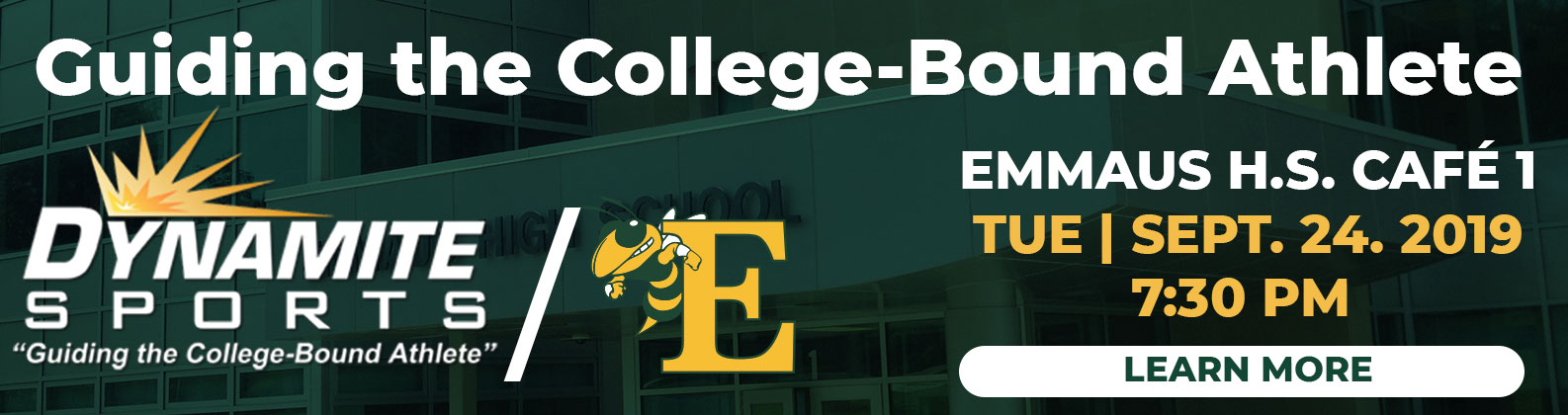 Guilding the College-Bound Athlete Event Banner - Click to learn more