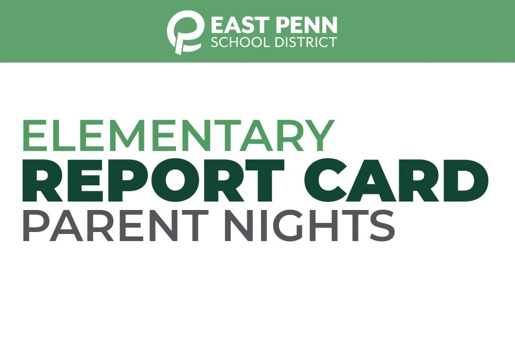 Elementary Report Card Parent Night Banner