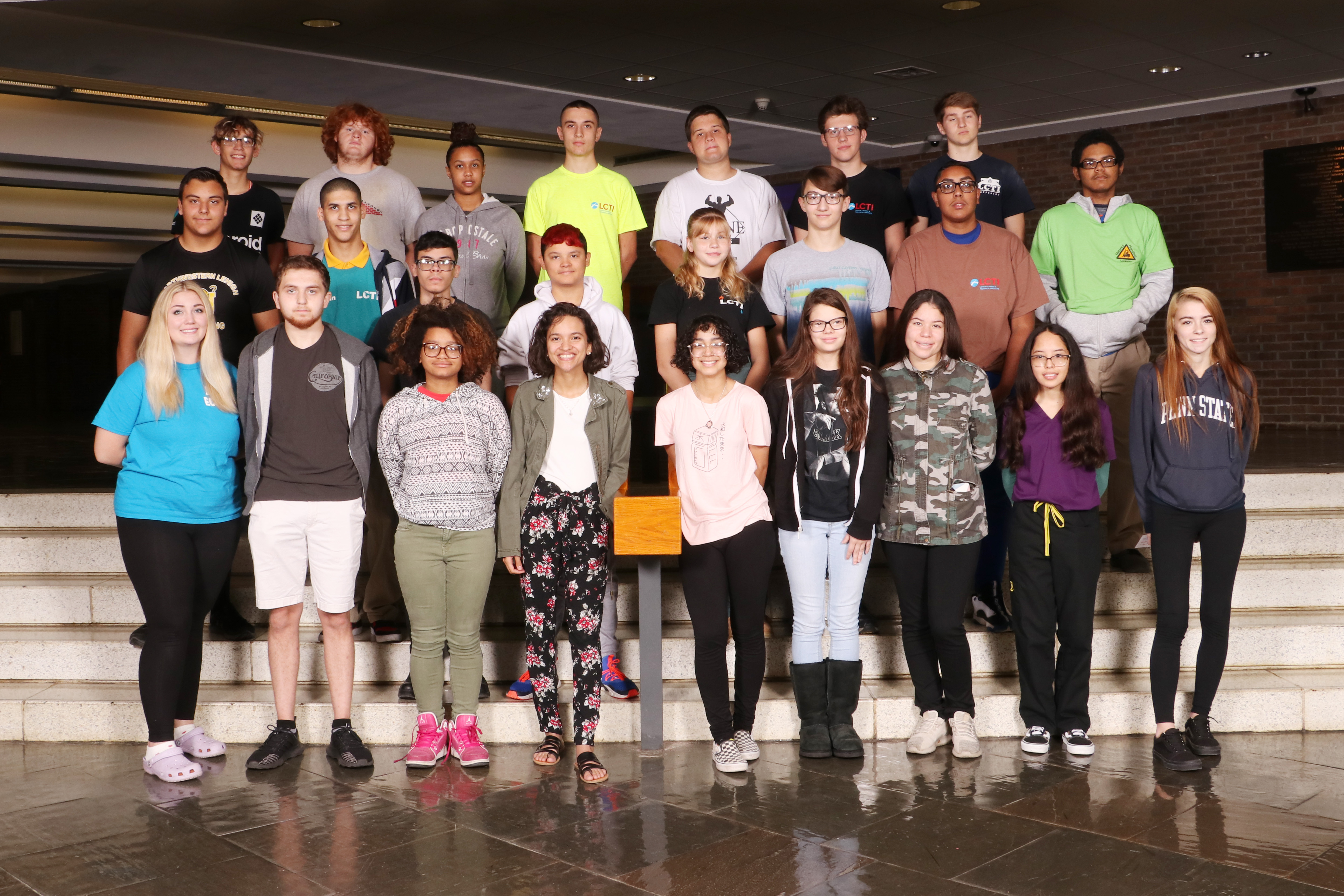LCTI September Students of the Month