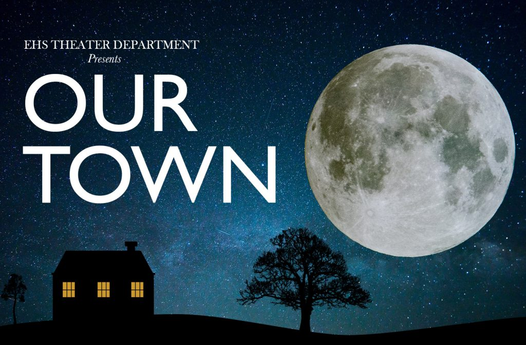 Our Town Play Poster