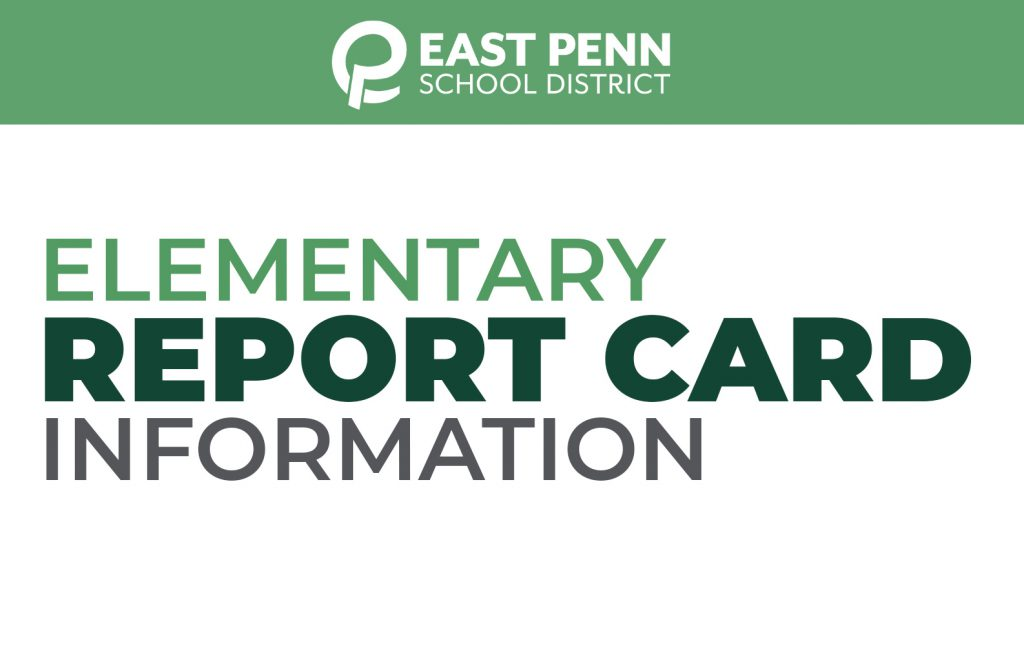 Elementary Report Card Information
