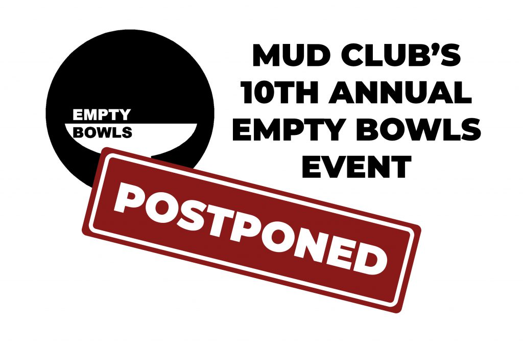 Empty bowls event postponed Banner